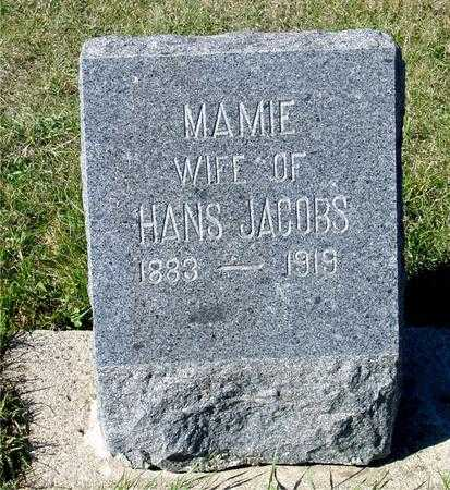 JACOBS, MAMIE - Crawford County, Iowa | MAMIE JACOBS