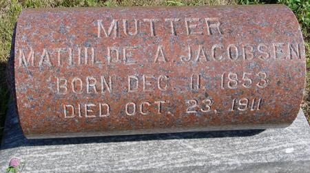 JACOBSEN, MATHILDE A. - Crawford County, Iowa | MATHILDE A. JACOBSEN
