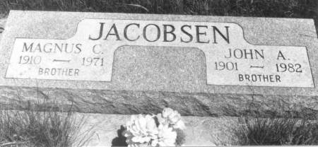 JACOBSEN, JOHN A. - Crawford County, Iowa | JOHN A. JACOBSEN