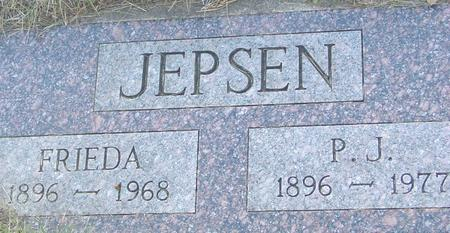 JEPSEN, P. J. & FRIEDA - Crawford County, Iowa | P. J. & FRIEDA JEPSEN