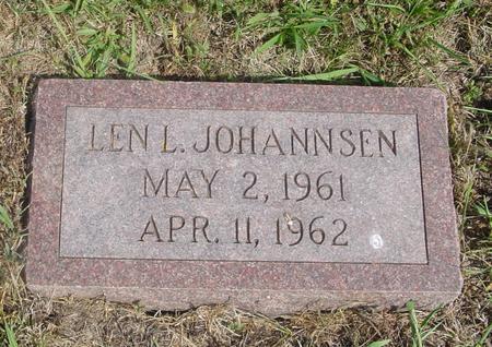JOHANNSEN, LEN L. - Crawford County, Iowa | LEN L. JOHANNSEN