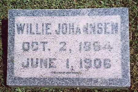 JOHANNSEN, WILLIE - Crawford County, Iowa | WILLIE JOHANNSEN