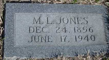 JONES, M. L. - Crawford County, Iowa | M. L. JONES