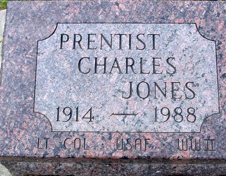JONES, PRENTIST CHARLES - Crawford County, Iowa | PRENTIST CHARLES JONES