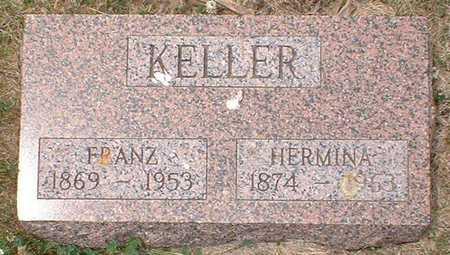 KELLER, HERMINA - Crawford County, Iowa | HERMINA KELLER