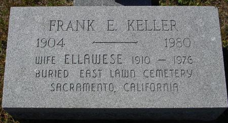 KELLER, FRANK E. - Crawford County, Iowa   FRANK E. KELLER