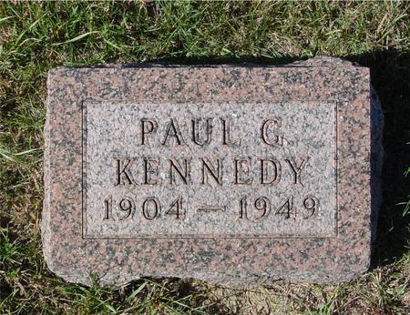 KENNEDY, PAUL G. - Crawford County, Iowa | PAUL G. KENNEDY
