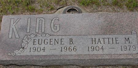 KING, EUGENE & HATTIE - Crawford County, Iowa | EUGENE & HATTIE KING