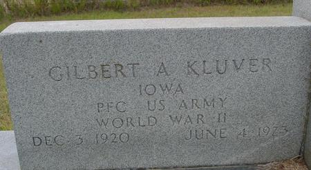 KLUVER, GILBERT A. - Crawford County, Iowa | GILBERT A. KLUVER