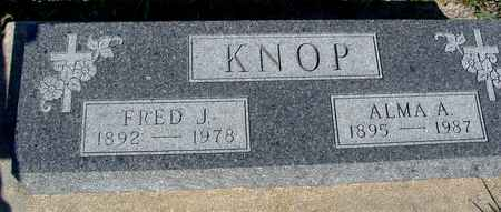 KNOP, FRED J. & ALMA - Crawford County, Iowa | FRED J. & ALMA KNOP