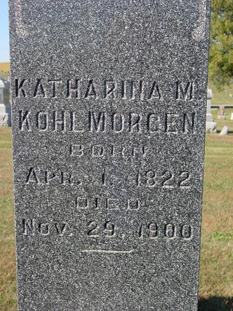 KOHLMORGEN, KATHARINA - Crawford County, Iowa | KATHARINA KOHLMORGEN