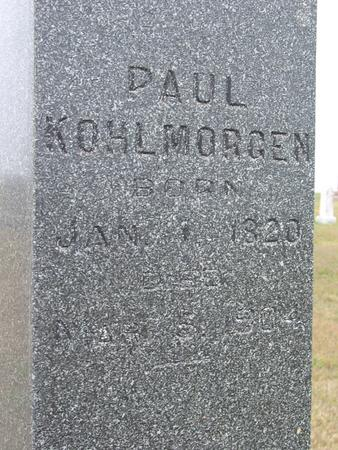 KOHLMORGEN, PAUL - Crawford County, Iowa | PAUL KOHLMORGEN