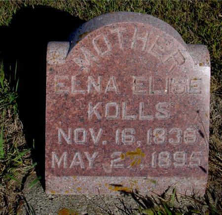 KOLLS, ELNA ELISE - Crawford County, Iowa | ELNA ELISE KOLLS