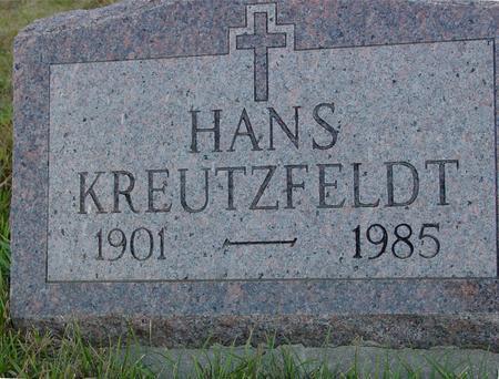 KREUTZFELDT, HANS - Crawford County, Iowa | HANS KREUTZFELDT