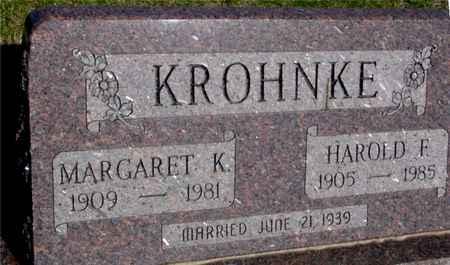 KROHNKE, HAROLD & MARGARET - Crawford County, Iowa | HAROLD & MARGARET KROHNKE