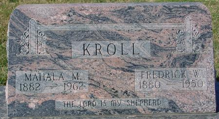 KROLL, FREDRICK & MAHALA - Crawford County, Iowa | FREDRICK & MAHALA KROLL