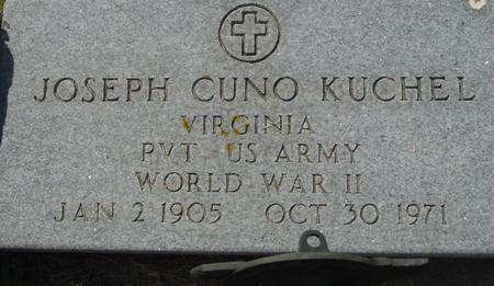 KUCHEL, JOSEPH CUNO - Crawford County, Iowa | JOSEPH CUNO KUCHEL