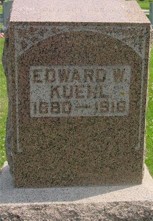 KUEHL, EDWARD W. - Crawford County, Iowa | EDWARD W. KUEHL