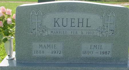 KUEHL, EMIL & MAMIE - Crawford County, Iowa | EMIL & MAMIE KUEHL