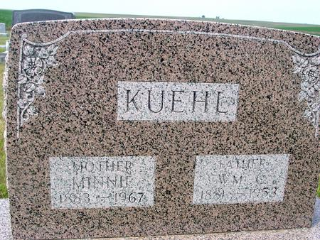 KUEHL, WILLIAM & MINNIE - Crawford County, Iowa | WILLIAM & MINNIE KUEHL