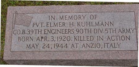 KUHLMANN, ELMER H. - Crawford County, Iowa | ELMER H. KUHLMANN