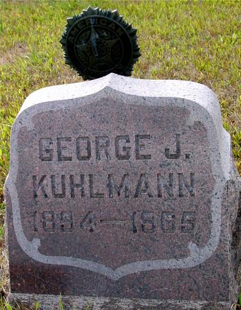 KUHLMANN, GEORGE J. - Crawford County, Iowa | GEORGE J. KUHLMANN