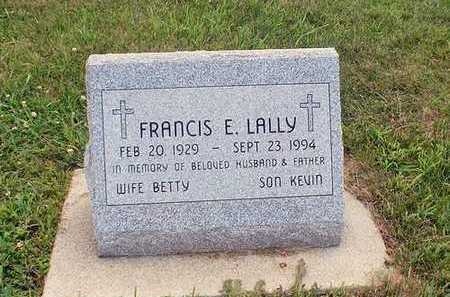 LALLLY, FRANCES E. - Crawford County, Iowa | FRANCES E. LALLLY