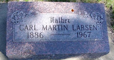 LARSEN, CARL MARTIN - Crawford County, Iowa | CARL MARTIN LARSEN
