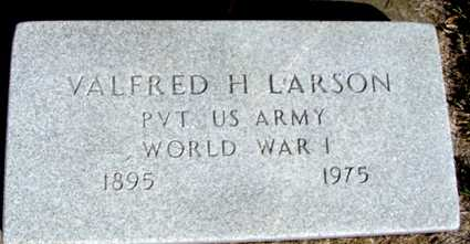 LARSON, VALFRED H. - Crawford County, Iowa | VALFRED H. LARSON
