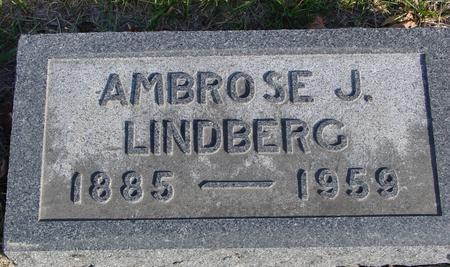 LINDBERG, AMBROSE J. - Crawford County, Iowa | AMBROSE J. LINDBERG