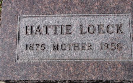 LOECK, HATTIE - Crawford County, Iowa | HATTIE LOECK