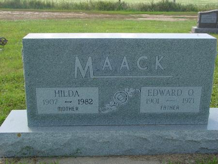 MAACK, EDWARD & HILDA - Crawford County, Iowa | EDWARD & HILDA MAACK