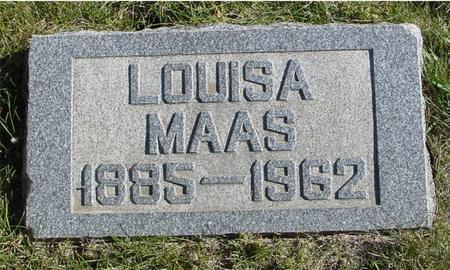 MAAS, LOUISA - Crawford County, Iowa | LOUISA MAAS