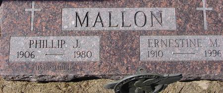 MALLON, PHILLIP & ERNESTINE - Crawford County, Iowa | PHILLIP & ERNESTINE MALLON
