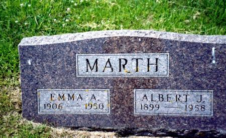 MARTH, ALBERT J. - Crawford County, Iowa | ALBERT J. MARTH