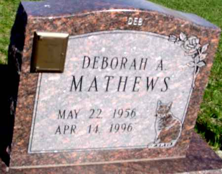 MATHEWS, DEBORAH A. - Crawford County, Iowa | DEBORAH A. MATHEWS