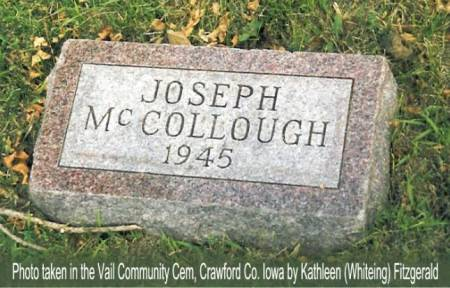 MCCOLLOUGH, JOSEPH - Crawford County, Iowa | JOSEPH MCCOLLOUGH