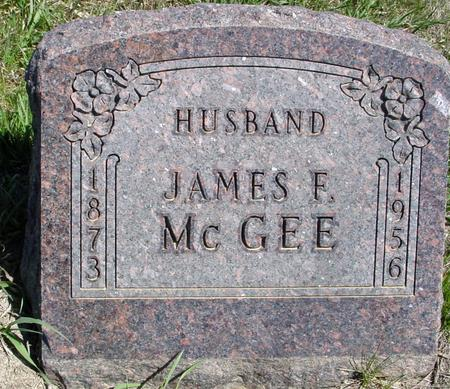 MCGEE, JAMES F. - Crawford County, Iowa | JAMES F. MCGEE