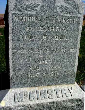 MCKINSTRY, MAURICE L. & MARY - Crawford County, Iowa | MAURICE L. & MARY MCKINSTRY