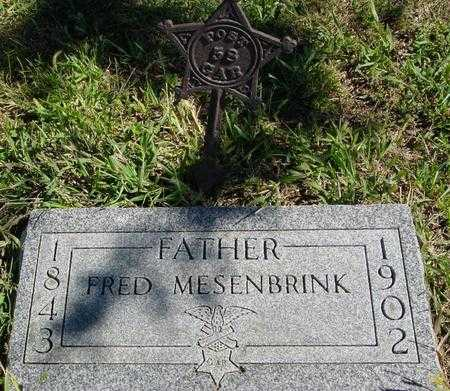 MESENBRINK, FRED - Crawford County, Iowa | FRED MESENBRINK