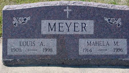 MEYER, LOUIS & MAHELA - Crawford County, Iowa | LOUIS & MAHELA MEYER