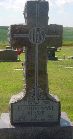 MIESNER, ALLEN WAYNE - Crawford County, Iowa | ALLEN WAYNE MIESNER
