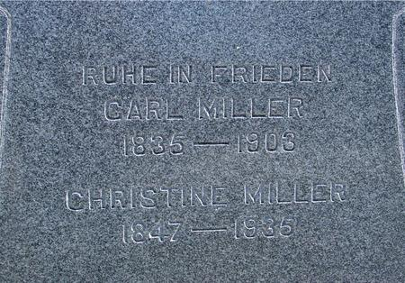 MILLER, CARL & CHRISTINE - Crawford County, Iowa | CARL & CHRISTINE MILLER
