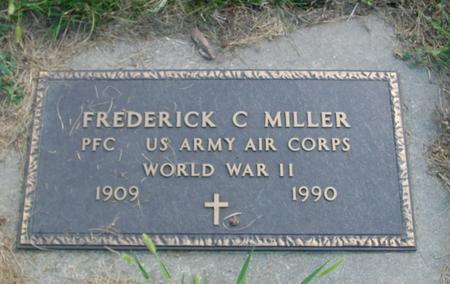 MILLER, FREDERICK C. - Crawford County, Iowa | FREDERICK C. MILLER