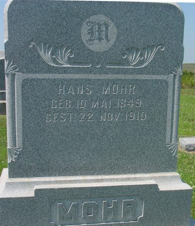 MOHR, HANS - Crawford County, Iowa | HANS MOHR