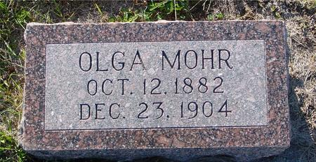 MOHR, OLGA - Crawford County, Iowa | OLGA MOHR