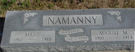 NAMANNY, AUGUST, & MARIE - Crawford County, Iowa | AUGUST, & MARIE NAMANNY