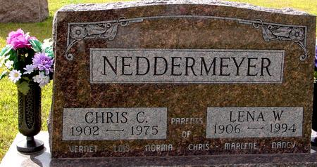 NEDDERMEYER, CHRIS & LENA - Crawford County, Iowa   CHRIS & LENA NEDDERMEYER