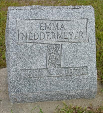 NEDDERMEYER, EMMA - Crawford County, Iowa | EMMA NEDDERMEYER