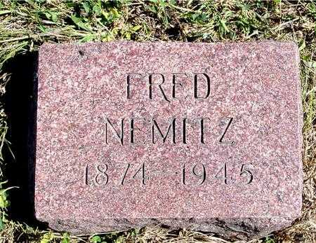 NEMITZ, FRED - Crawford County, Iowa | FRED NEMITZ